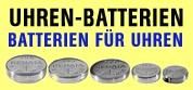 Uhren-Batterien, Batterien für Ihre Uhr